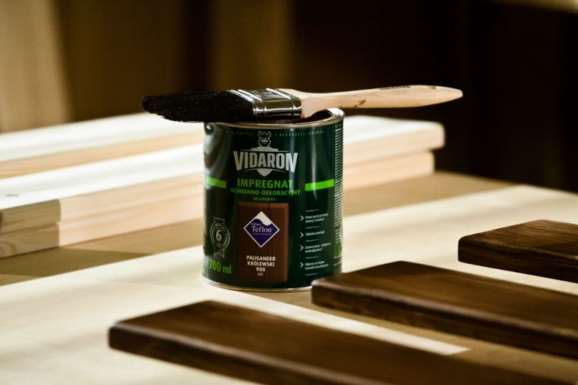імпренація сирої деревини