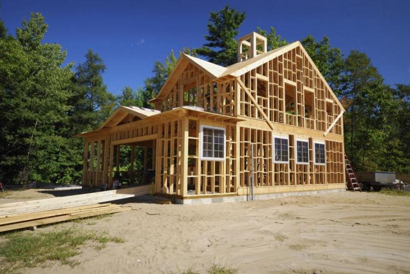 захист деревяного дому від вогню